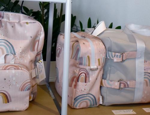 Caroline Gaillard : confection de sacs pour enfants
