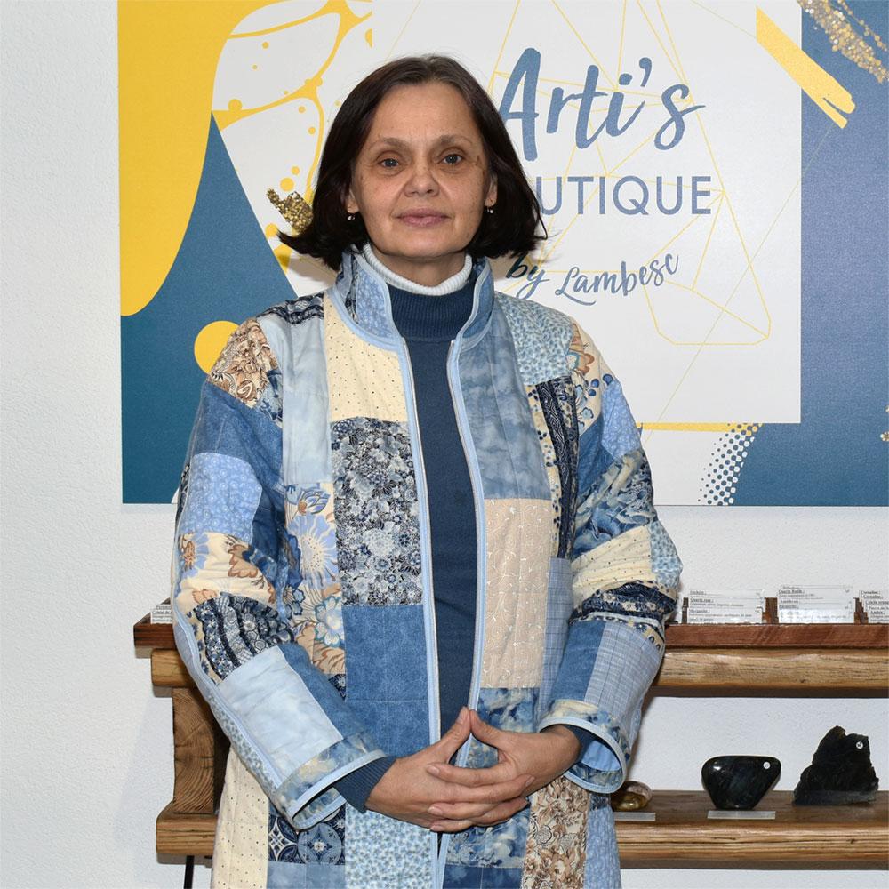 Irina Vallette Artisan d'art textile