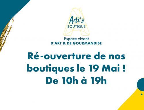 Arti's Boutique by est de retour !